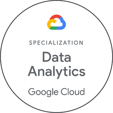 Appsbroker Google Cloud Specialization Data Analytics badge